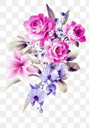 Hand-painted Bouquets - Floral Design Flower Bouquet Cut Flowers Shamrock PNG