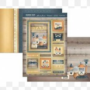 Barber Shop Artwork - Hunkydory Crafts Charming Chaps A4 Topper Set Picture Frames Product Image PNG