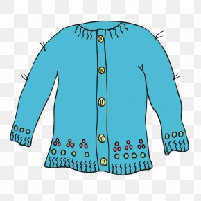 Cardigan Cliparts - Sweater Wool Cardigan Clip Art PNG