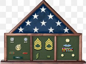 Flag - Flag Of The United States Shadow Box Display Case PNG