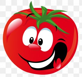 Tomato - Roma Tomato Cherry Tomato Cartoon Vegetable Clip Art PNG