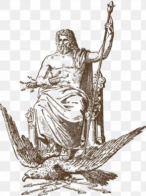 Vector Ancient Greece Ancient Statue - Zeus Hera Poseidon Ancient Greece Greek Mythology PNG