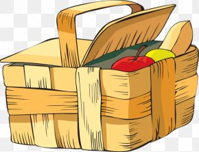 Summer Picnic Pictures - Picnic Baskets Clip Art PNG
