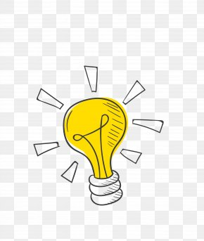 Bulb - Idea Incandescent Light Bulb PNG