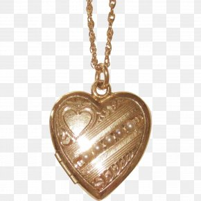 Gold Heart - Locket Charms & Pendants Jewellery Necklace Gold PNG