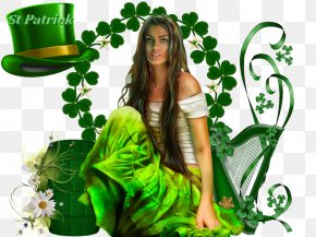 Saint Patrick - Saint Patrick's Day March 17 Party Irish People PNG