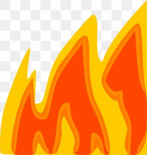 Cartoon Fire - Flame Free Content Clip Art PNG