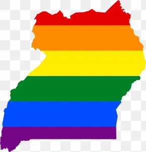 Map - Buganda Flag Of Uganda Map National Flag PNG