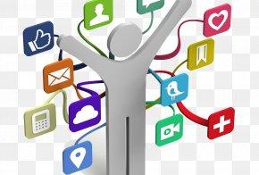 Social Media - Social Media Clip Art Christmas Social Networking Service PNG