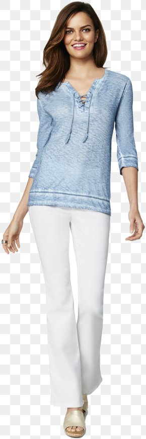 Jeans - Jeans Shoulder Denim Leggings Sleeve PNG