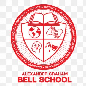 School Bell - Alexander Graham Bell School Elementary School School Bell Logo PNG