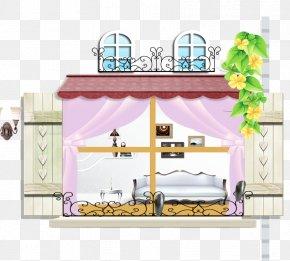 Cartoon House Model - Cartoon Interior Design Services Animation PNG