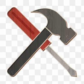 Hammer Hand Tool - Hammer Icon Constructions Icon Tools Icon PNG