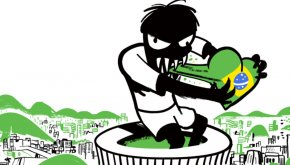 Animated Golf Pictures - Brazil V Germany 2014 FIFA World Cup Brazil V Germany Clip Art PNG