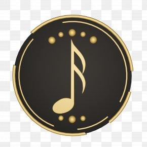 Symbol Metal - Font Clock Circle Logo Metal PNG