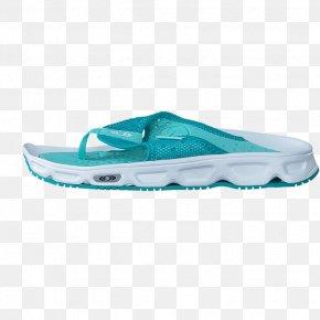 Aqua Blue Shoes For Women - Shoe Flip-flops Product Design Cross-training PNG