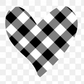 White Heart Cliparts - T-shirt Tartan Flannel Gingham PNG
