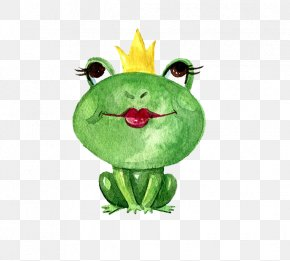 Frog Prince - Frog T-shirt Cuteness PNG