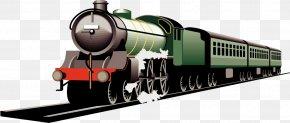 Moving Train - Train Rail Transport Clip Art PNG