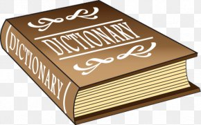 Dictionary - Clip Art Collins English Dictionary Openclipart TheFreeDictionary.com PNG