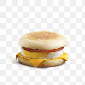 Egg Sandwich - Breakfast Sandwich English Muffin McDonald's Sausage McMuffin Fast Food PNG
