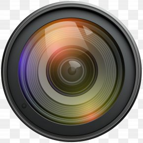 Lens Transparent Clip Art - Camera Lens Video Camera PNG