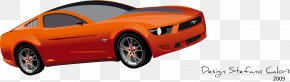 Orange Ford - Ford Mustang Ford Fiesta Car PNG