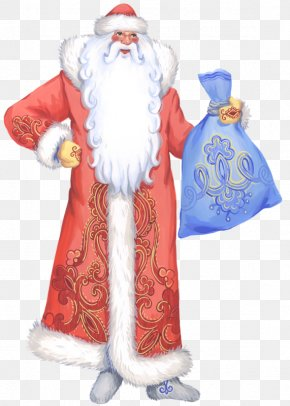 Santa Claus - Ded Moroz Snegurochka Santa Claus Drawing Grandfather PNG
