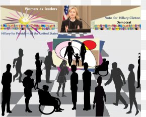 Hillary Clinton Presidential Campaign, 2016 - President Of The United States Democratic Party Graphic Design PNG