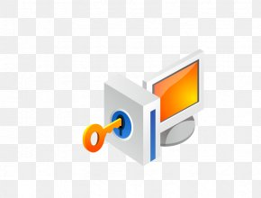 3D Key - Computer Software Icon PNG
