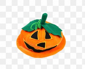 Halloween Pumpkin Hat - Halloween Pumpkin Hat Jack-o-lantern Mask PNG