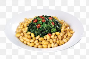 Kale Soy Mix - Vegetarian Cuisine Chinese Cuisine Soy Milk Chinese Broccoli Soybean PNG