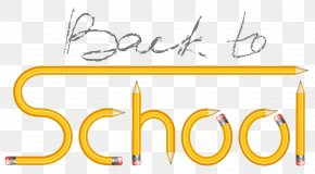 Transparent Back To School With Pencils Clipart Image - School Clip Art PNG