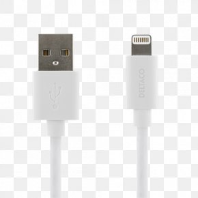 Lightning - Electrical Cable IPhone 5 Lightning Apple Micro-USB PNG