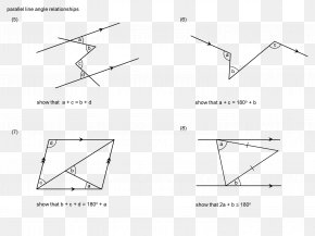 Line Angle - Triangle Point Parallel Mathematics PNG