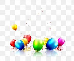 Vector Cartoon Balloon PNG
