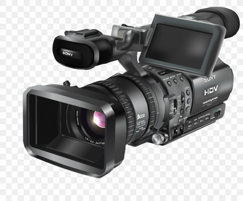 Video Camera, PNG, 1100x913px, Video Cameras, Camcorder, Camera, Camera Accessory, Camera Lens Download Free
