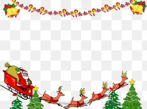 Free Christmas Santa Ribbons Buckle Material - Outlook.com Signature Block Microsoft Outlook Email Holiday PNG