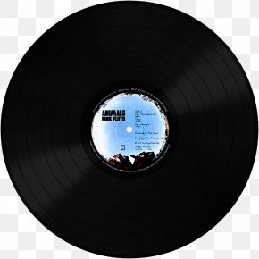Pink Floyd - Phonograph Record Record Label Sticker Decal PNG