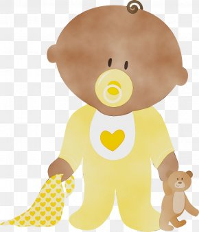 Child Teddy Bear - Baby Toys PNG