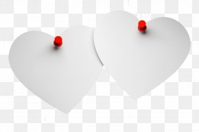 Tack And Heart-shaped - Heart PNG