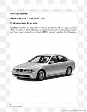 BMW 3 Series (E46) - BMW 5 Series Gran Turismo Car BMW 3 Series BMW 6 Series PNG