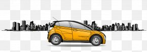 Taxi Driving - Car Door Electric Vehicle Electric Car PNG