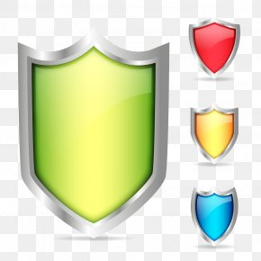 Vector Color Shield - Download Euclidean Vector Shield Color PNG