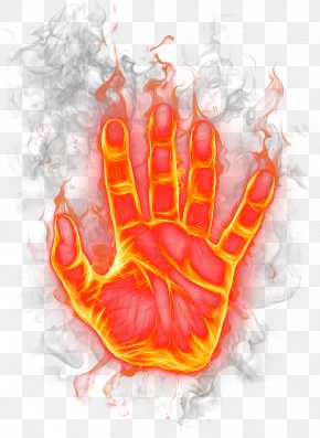 The Palm Of The Fire - Flame Fire Download PNG
