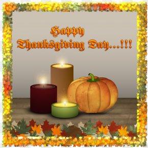 Thanksgiving Day - Thanksgiving Day Pumpkin Calabaza Turkey Gratitude PNG