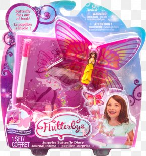 Book - Book Flutterbye Flying Flower Fairy Doll Paperback Toy PNG
