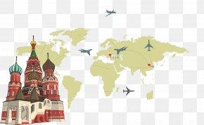 World Travel - Building Euclidean Vector Illustration PNG