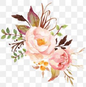 Flower - Floral Design Watercolor Painting Flower Bouquet Art PNG