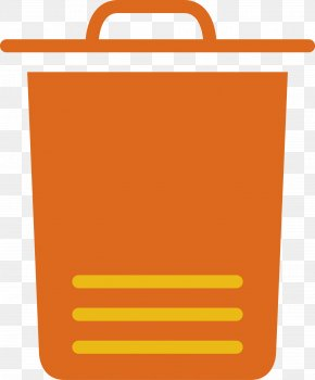 Trash Can - Waste Container Icon PNG